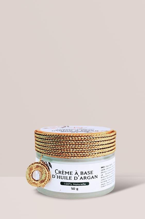 crème à l'argan naturel diamant d'argan