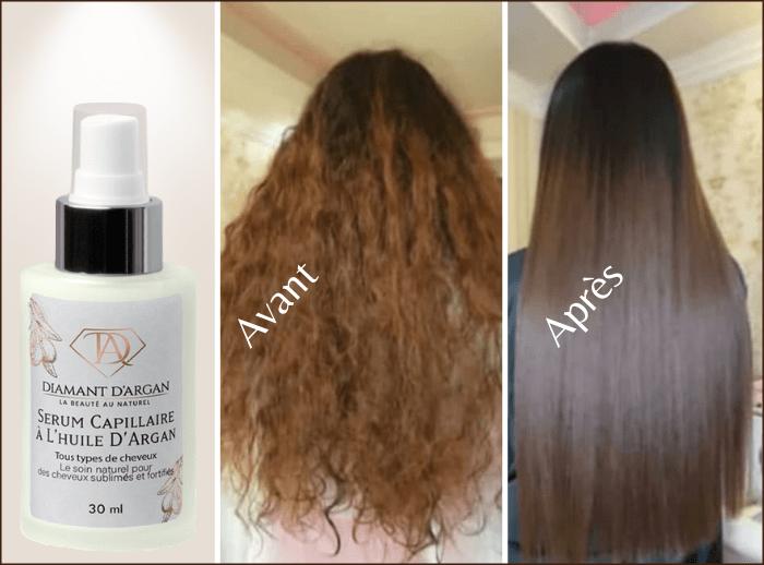avis client sérum cheveux